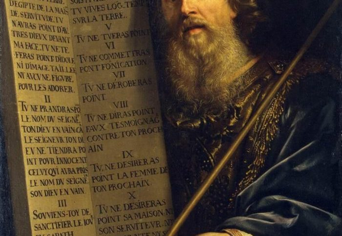 Tips for Moving - Moses with the Ten Commandments