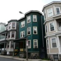 Boston Homes - Three-Decker houses a staple in the Boston Area