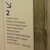 Boston Moving Permits are available at Boston City Hall